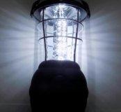 Большой кемпинговый светодиодный динамо фонарь