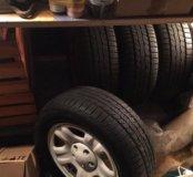 Колеса в сборе Toyota RAV4-Резина на Дисках