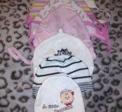 Шапочки на новорожденного