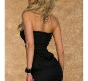 Черное минни платье м