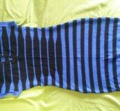 Платье мелкой вязки