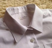 Рубашка Marks&Spencer белая для школы