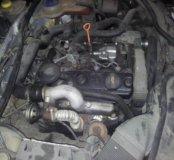 Пассат б5 мотор 1.9b.в сборе.