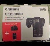 Фотоаппарат +объектив Cenon 1100D ,double kids