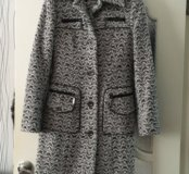 Шерстяное пальто 44 разм.