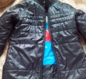 Двусторонняя курточка ,, reebok,, оригинал.
