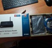Wi-Fi роутер D- link