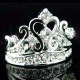 """Кольцо с камнями Swarovski """"Корона"""""""