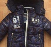 Куртка размер 3-4 года