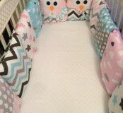Бортки подушки новые