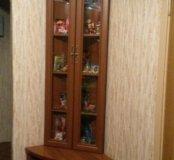 Угловой шкаф с тумбочкой
