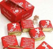 Шоколадный набор на День Св. Валентина. Подарок