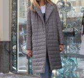 Пальто стёганное новое
