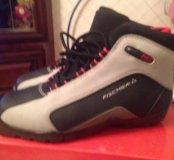 ботинки лыжные 40 р-р Фишер