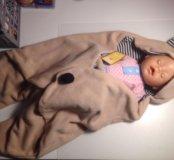 Одеяло, конверт для малыша новый