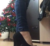 Туфли 👠 замшевые