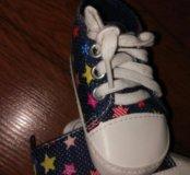 Новые пинетки кроссовки мягкие