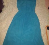 Платье в пол обменяю