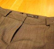 Серые брюки р 46