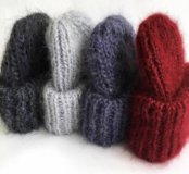 Шапка натуральная шерсть ❄️❄️❄️очень тёплая новая