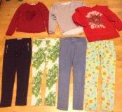 Пакет / поштучно модной одежды 134-140 см