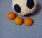Вязаный футбольный мяч)