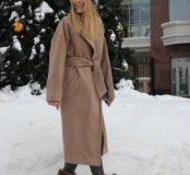 Пальто новое тёплое