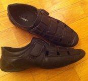 Черные туфли сменка
