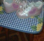 Ботиночки на девочку новые