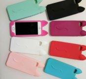"""Чехлы """"Киски"""" на iPhone 5"""