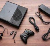 Приставка XBOX360 E 500гб+5игр