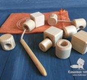 Развивающие игрушки (деревянные)