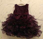 Новое детское платье, 1,5 года