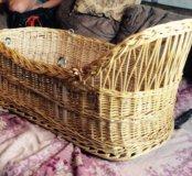 Люлька плетеная