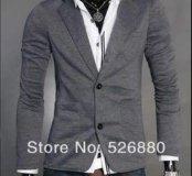 Пиджак трикотажный 48-50 размер