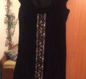 Платье вельветовое с вышивкой ручной NoaNoa