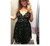 Платье ручной работы новое кружевное
