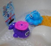 Осьминог-фонтан для ванной