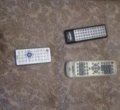 Пульт для телевизора и ДВД