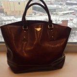 Кожаная сумка из Турции