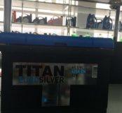 Аккумулятор 61 ah Тitan euro silver доставка