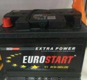 Аккумулятор 60ah Euro start доставка