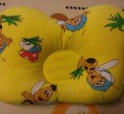 Подушка бабочка для новорожденных