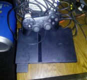 Sony ps2 slim прошитая.