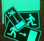 Светящиеся Бумага для планов эвакуации