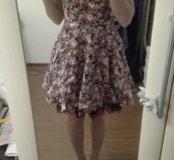 Платье на лето, пышная юбка