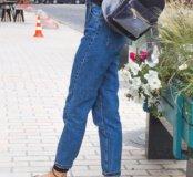 Серый рюкзак бархатный