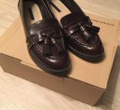 Обувь (лоферы ZARA)