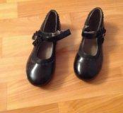 Черные туфельки .