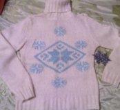 Кофта( свитер с горлом )